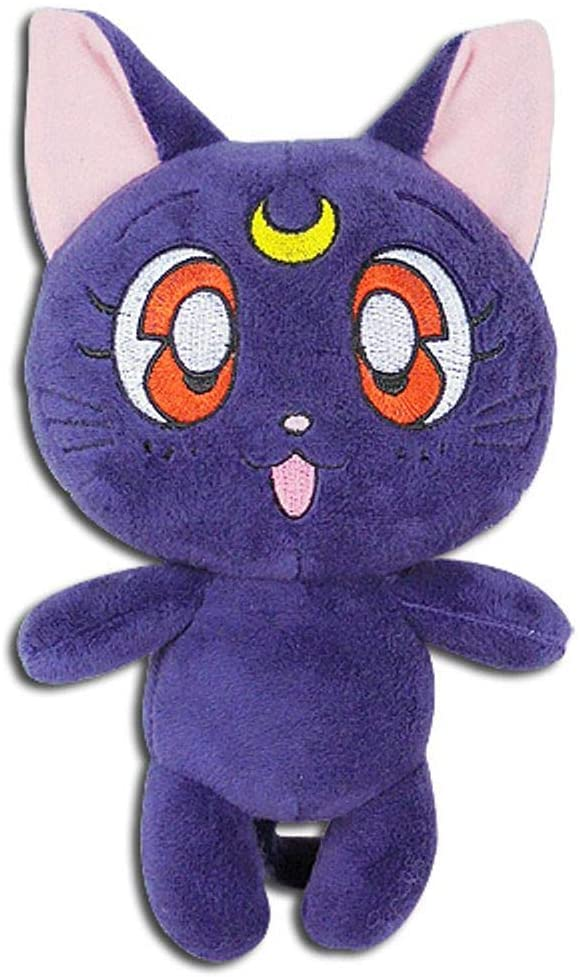 "Sailor Moon- Luna Plush 7"" H - Kryptonite Character Store"