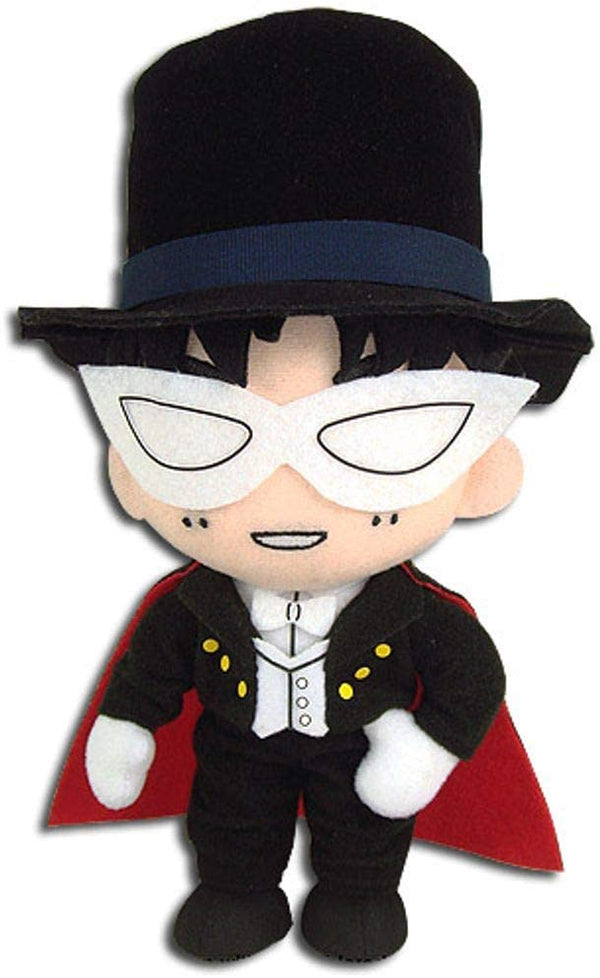 "Sailor Moon- Tuxedo Mask Smile 8"" Plush - Kryptonite Character Store"