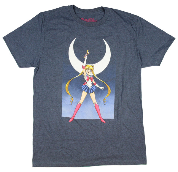 Sailor Moon Men's Anime Graphic T-Shirt - Kryptonite Character Store