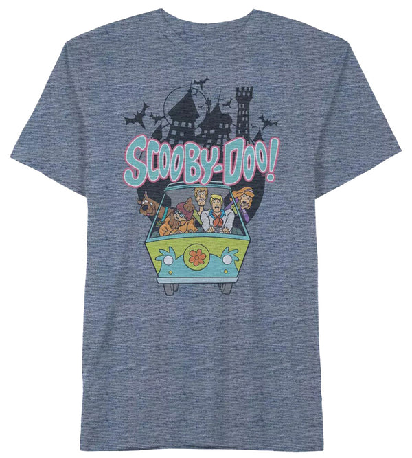 Scooby-Doo Men's Haunted Ride Short Sleeve T-Shirt - Kryptonite Character Store