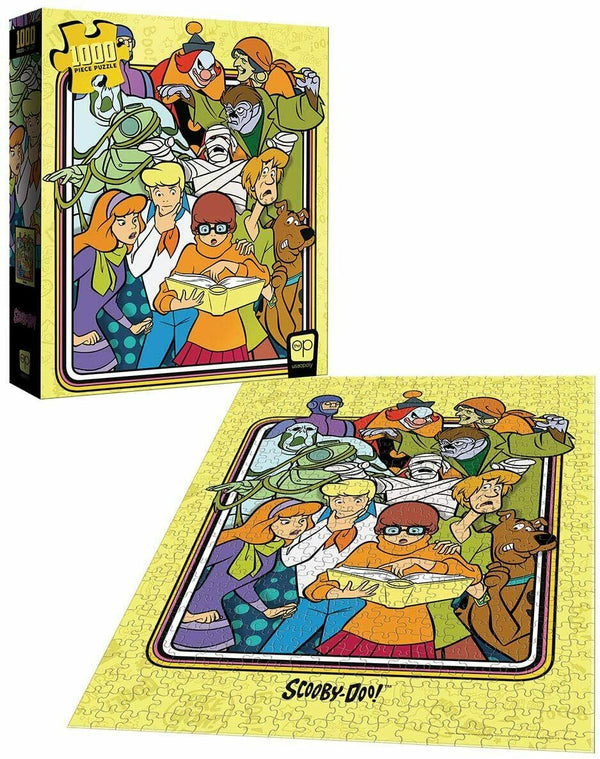 Scooby-Doo: Those Meddling Kids! Jigsaw Puzzle - 1000 Pieces -Kryptonite Character Store