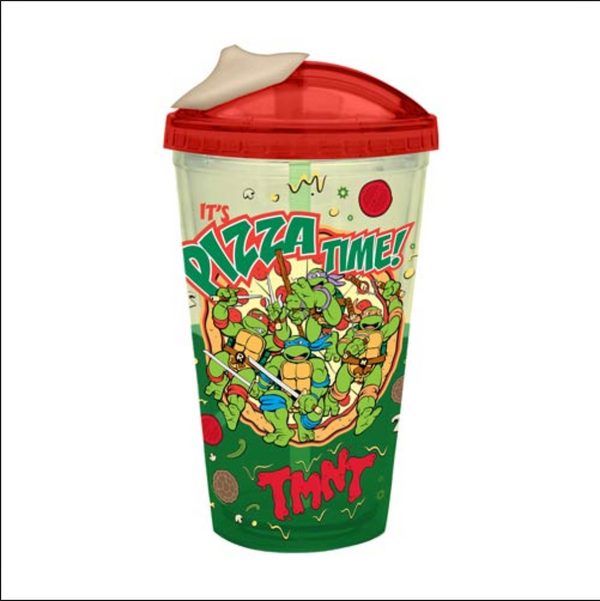 Teenage Mutant Ninja Turtles TMNT Pizza Time with Ooze Travel Cup