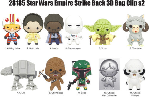 Star Wars Series 2 - Empire Strikes Back - 3D Foam Bag Clips in BlindBags