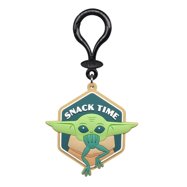 Star Wars: The Mandalorian The Child Snack Time Soft Touch PVC Bag Clip - Kryptonite Character Store