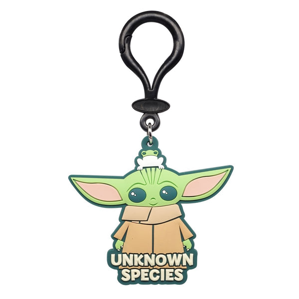 Star Wars: The Mandalorian The Child Unknown Species Soft Touch PVC Bag Clip - Kryptonite Character Store