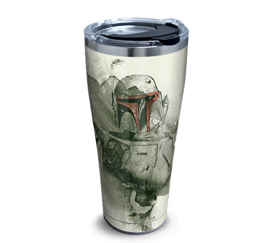 Star Wars™ - Empire 40th Boba Fett 30oz Stainless Steel With Hammer Lid - Kryptonite Character Store