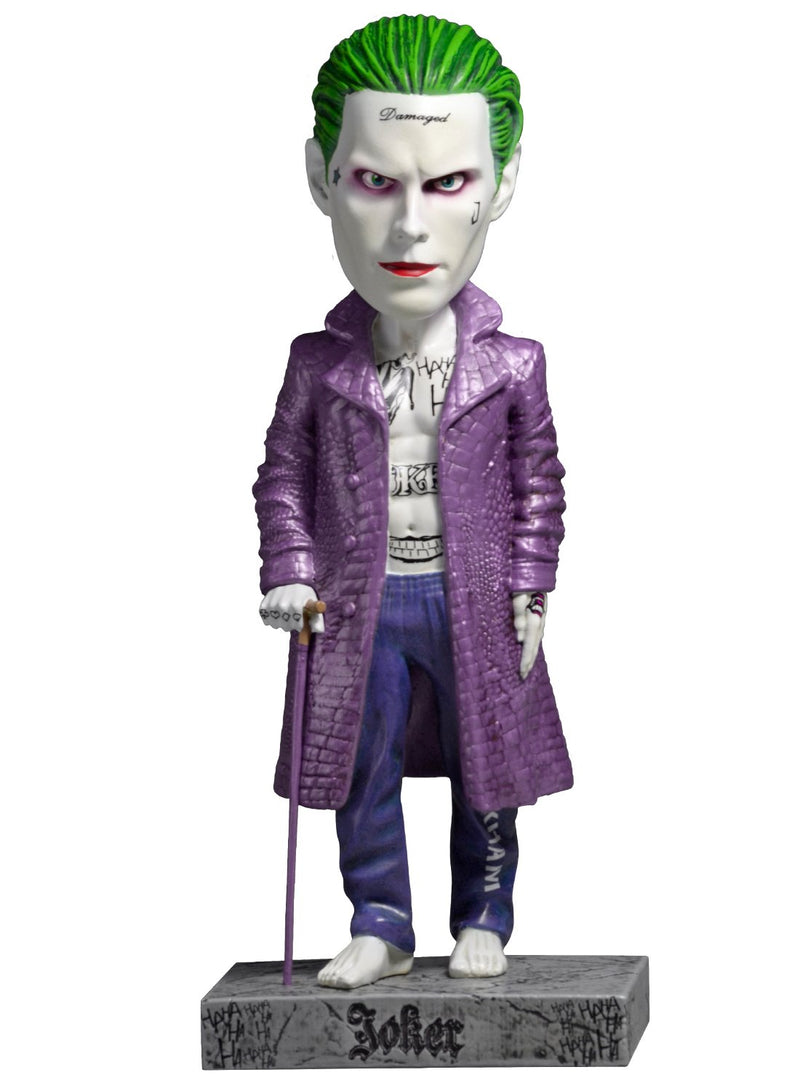 Suicide Squad Movie Head Knocker Joker Toy - Kryptonite Character Store