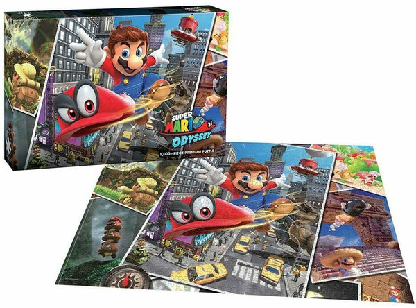 Super Mario: Odyssey Snapshots Jigsaw Puzzle - 1000 Pieces - Kryptonite Character Store