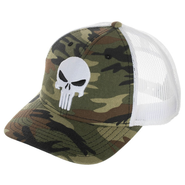 Marvel The Punisher Camo Adjustable Snapback Hat