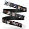 Tokyo Ghoul Characters Full Color Seat Belt Buckle Belt - Kryptonite Character Store
