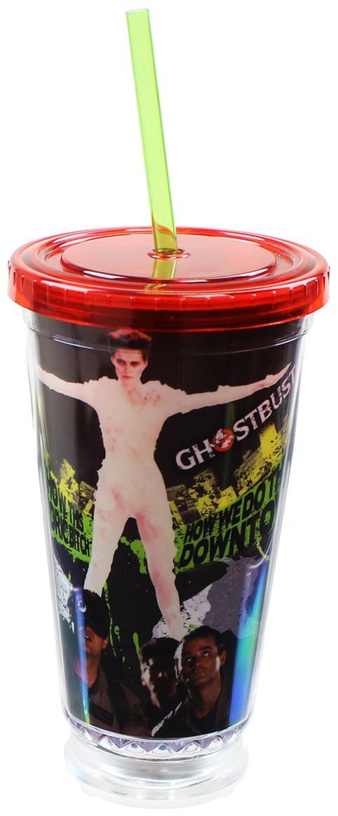 Ghostbusters 18oz Straw Cup - Kryptonite Character Store