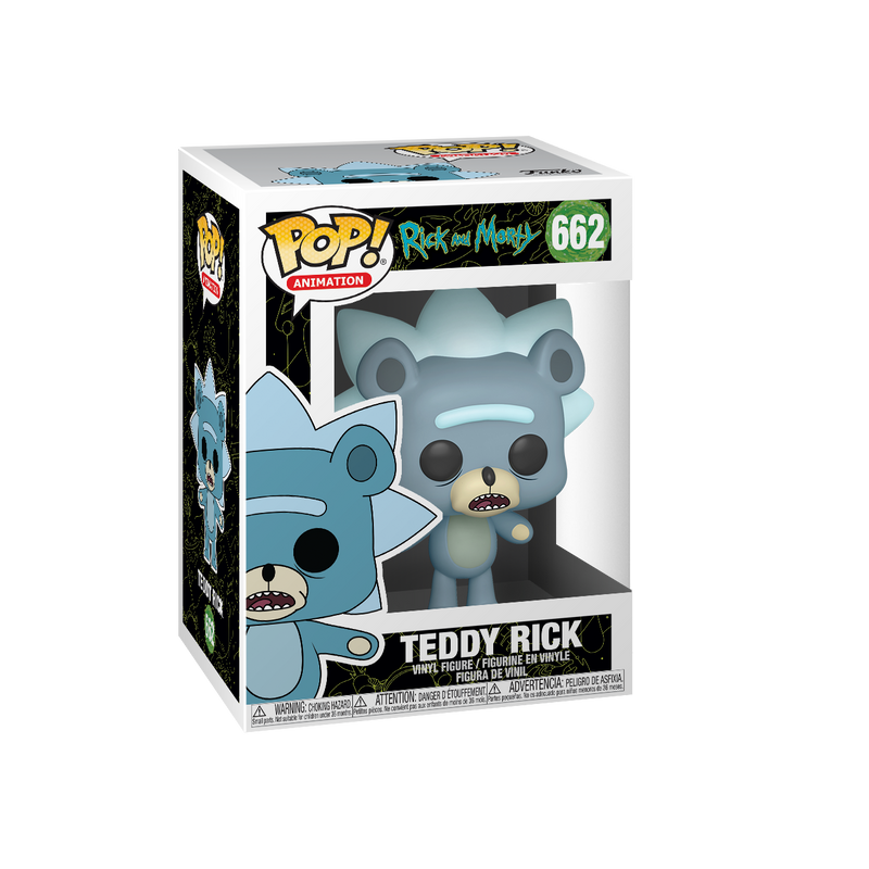 Pop Animation: Rick And Morty: Teddy Rick