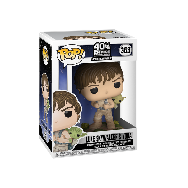 Funko POP! Star Wars: ESB- Training Luke with Yoda