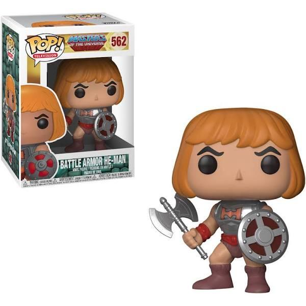 Funko POP Television: Masters of the Universe - He-Man w/ Battle Armor Vinyl Figure