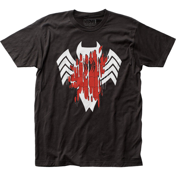 Marvel Spider-man Venom Transforming T-Shirt Short Sleeve