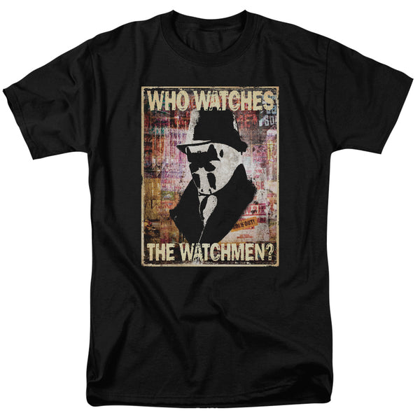 Who Watches the Watchmen Adult Fitted T-shirt - Kryptonite Character Store