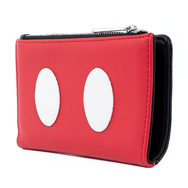 Mickey Mouse Quilted Cosplay Flap Wallet
