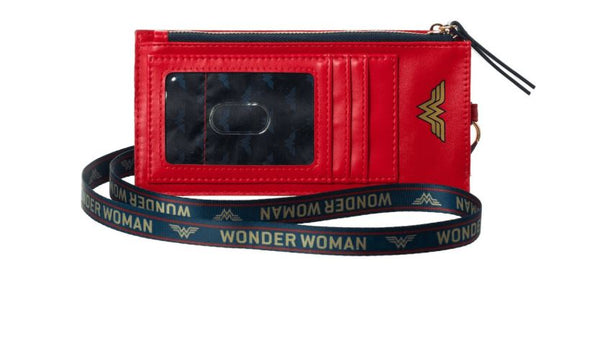 Wonder Woman Phone Sleeve With Lanyard- Kryptonite Character Store