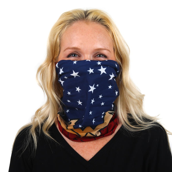 Wonder Woman Neck Gaiter - Kryptonite Character Store