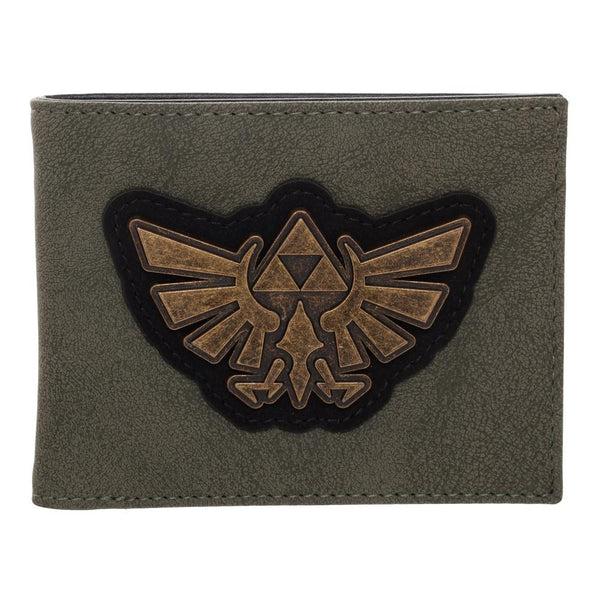 The Legend Of Zelda Distressed PU Bifold Wallet - Kryptonite Character Store