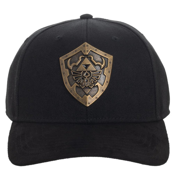 Zelda Metal Badge Pre-Curved Bill Snapback