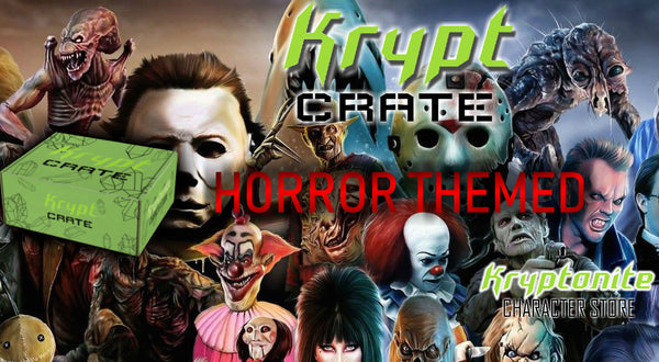 Horror Themed KRYPT CRATE mystery crate horror crate