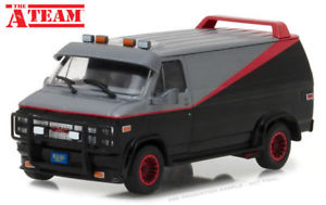 GREENLIGHT 84072 1/24 1983 GMC VANDURA THE A TEAM VAN