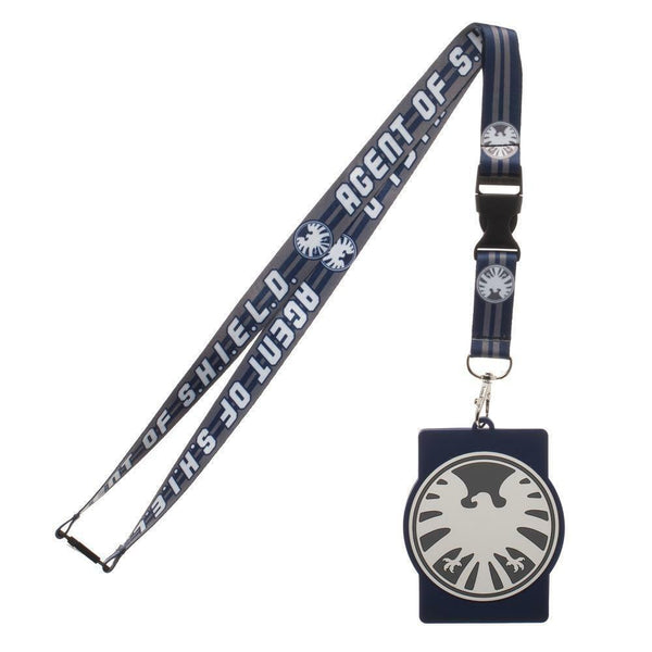 Agent of Shield Marvel ID Badge Holder Keychain Lanyard