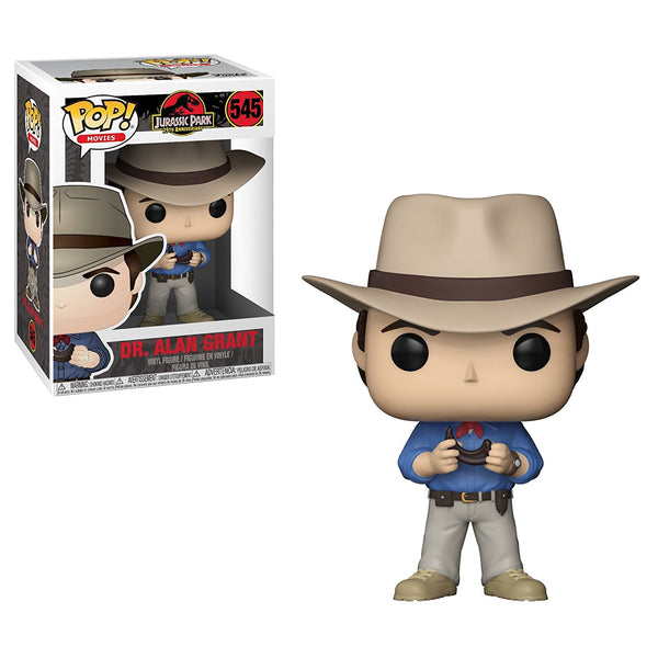 Jurassic Park Dr. Alan Grant Pop Vinyl Figure - Kryptonite Character Store
