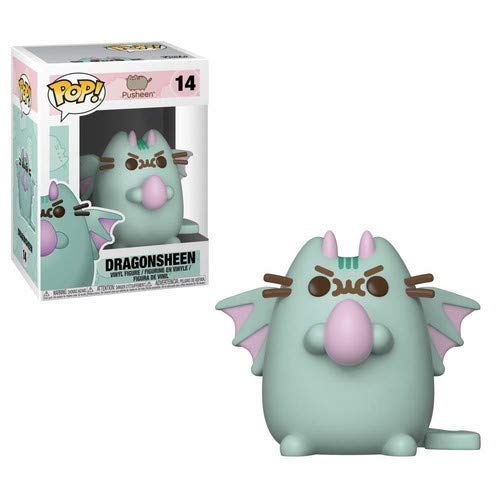 Pop Animation: Pusheen - Dragonsheen Collectible Figure- Kryptonite character Store