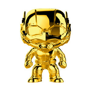 Funko Pop Marvel Studios 10 - Ant-Man (Gold Chrome) Collectible Figure