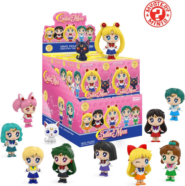 Mystery Minis Sailor Moon Mystery Box - Kryptonite Character Store