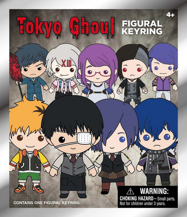 Tokyo Ghoul 3D Figural Keyring Mystery Pack - Kryptonite Character Store