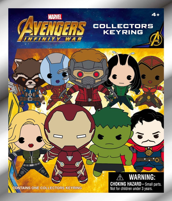 Avengers Infinity War - Series 1 Mystery Pack Keyring