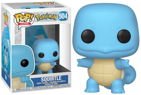 Games: Pokemon Squirtle POP! Figure - Kryptonite Character Store