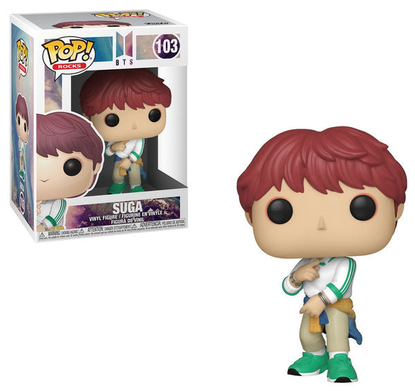 BTS - Suga POP Rocks Vinyl Figure - Kryptonite Character Store