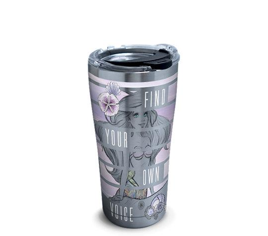 "The Little Mermaid ""Find Your Own Voice"" 20 oz. Stainless Steel Tervis Tumbler"