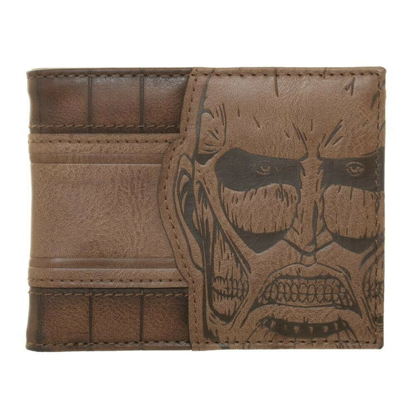 Mens Attack on Titan Bifold Wallet