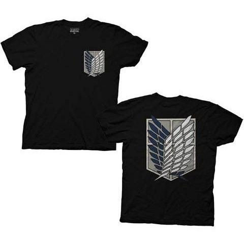 Attack on Titan Survey Corps Adult T-Shirt - Kryptonite Character Store