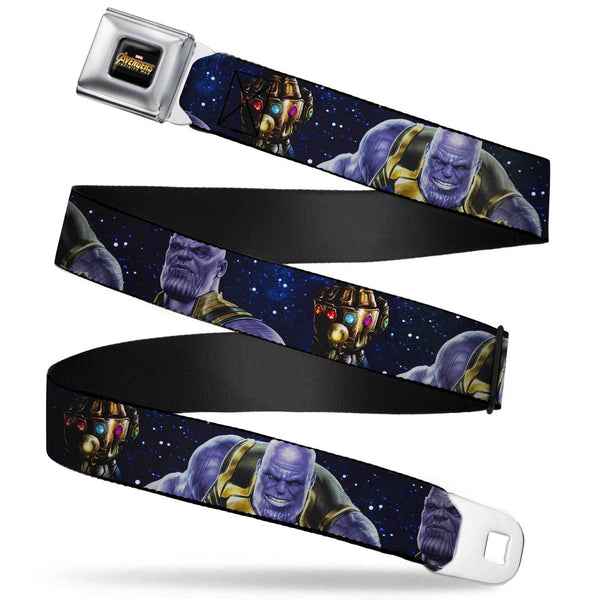 Marvel Comics The Avengers Infinity War Seatbelt Belt - Kryptonite Character Store