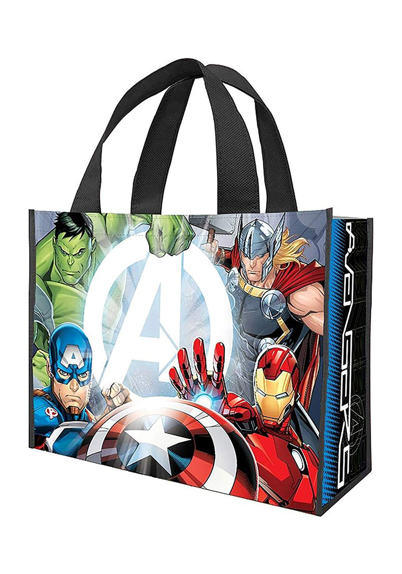 Marvel Avengers Large Recycled Shopper Tote Treat Bag Standard- Kryptonite Character Store