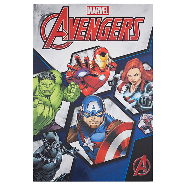 Avengers Comic Book Cover Wrapped Canvas Wall Art - Kryptonite Character Store