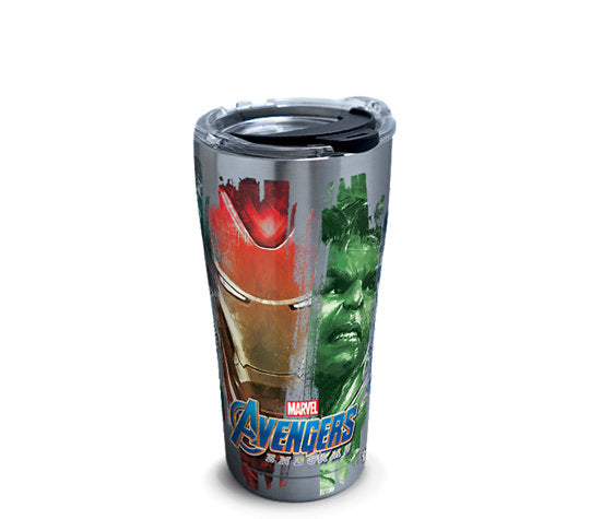 Marvel® - Avengers: Endgame Characters Stainless Steel With Hammer Lid