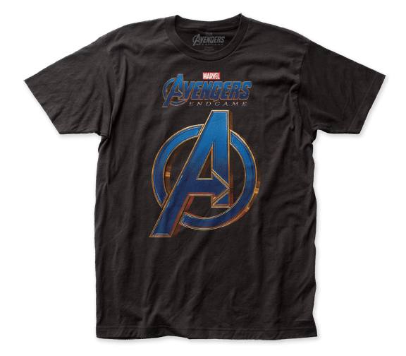 Marvel Comics - Avengers: Endgame Logo Adult Fitted T-shirt