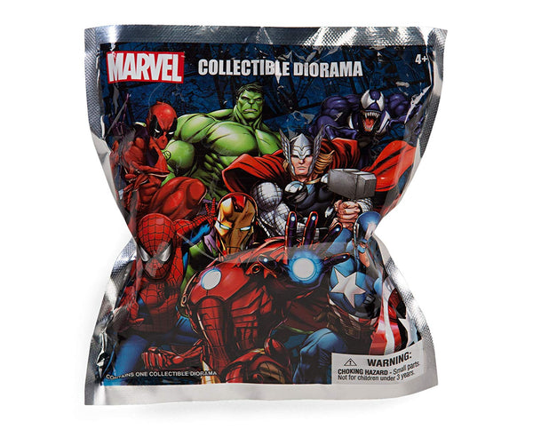Marvel - Collectible Diorama 2.75 in PVC Figurine (1 Random) - Kryptonite Character Store