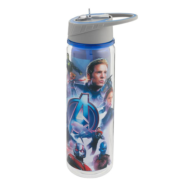Marvel Avengers: Endgame 16 oz. Tritan Water Bottle - Kryptonite Character Store