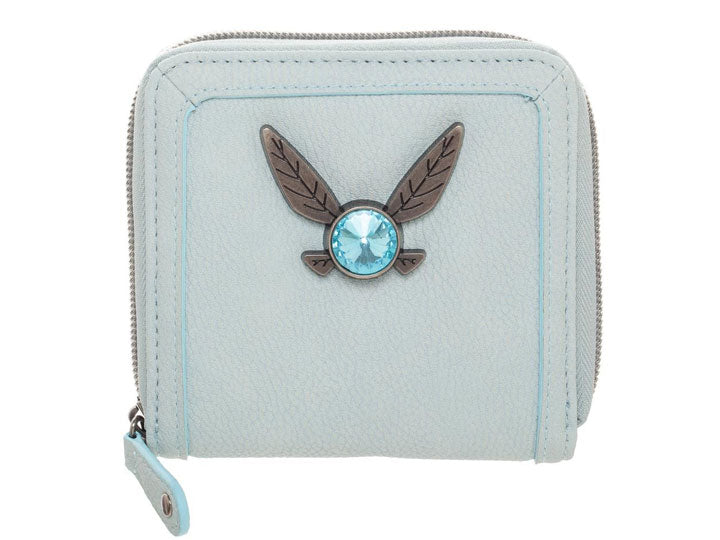 Legend of Zelda Navi Bifold Zip Wallet