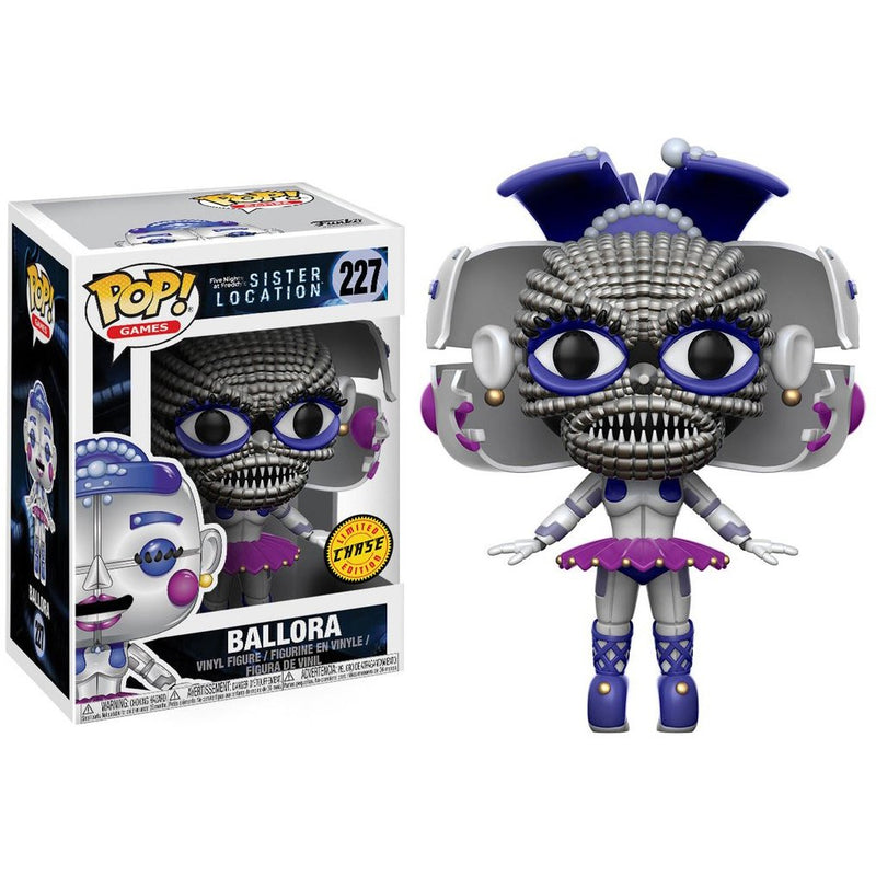 Funko - Ballora (CHASE Edition): Five Nights at Freddy's - Sister Location x POP! Games Vinyl Figure  - Kryptonite Character Store