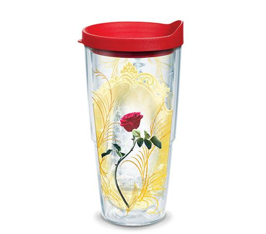 "Beauty and the Beast ""Enchanted Rose"" 24 oz. Tervis Tumbler"