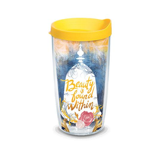 "Beauty and the Beast ""Beauty is Found Within"" 16 oz. Tervis Tumbler"